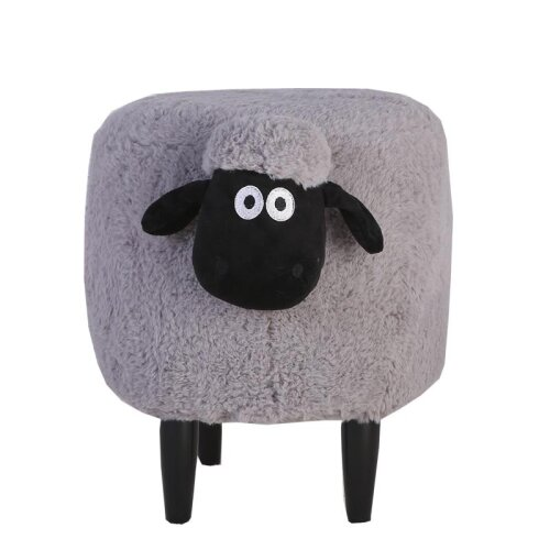 Nordic Creative Sean Change Shoes Stool & Solid Wood Feet Removable Washable Foot Stool