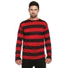 Freddy Krueger / Dennis the Menace Red & Black Striped Jumper