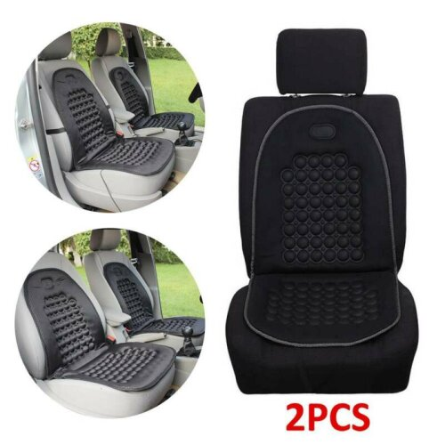 2X Car Van Seat Cushion Orthopaedic Padded Front Seat Cover Protect Ba