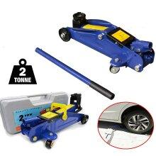 2 Ton 2T 2000kg Heavy Duty Car Van 4x4 Hydraulic Floor Trolley Jack in CASE