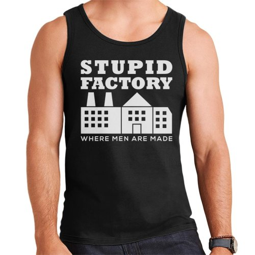 Anti Men Stupid Factory Men's Vest