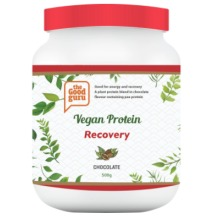 Vegan Protein Powder Recovery Chocolate, Pea Protein, Plant-Based