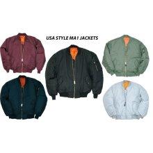 MA1 Flight Bomber Army Us Pilot Airforce Jacket