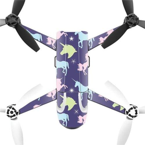 MightySkins PABEBOP2-Unicorn Dream Skin Decal Wrap for Parrot Bebop 2 - Unicorn Dream