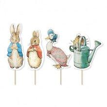 Peter Rabbit Classic Characters 12 Cupcake Picks