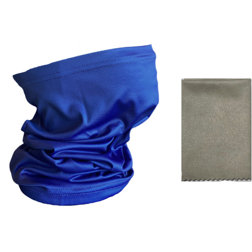 Antibacterial Snood Face Cover FREE Anti-Fog Cloth