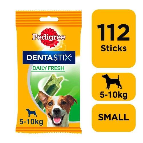 PEDIGREE Dentastix Fresh Small Dog Dental Chews 28 Stick (Pack of 4)