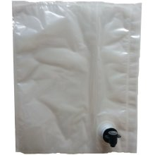 Wine Bag with Tap 5L for Dispensing from a Box Refill BIB Bag in Box Homebrew