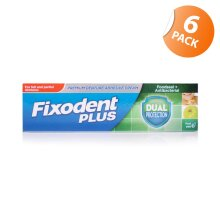 Fixodent Dual Protection Adhesive 40g x 6