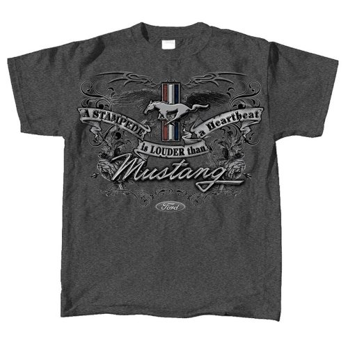 (XXL) Ford Mustang Emblem T Shirt Officially Licensed