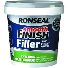 Smooth Finish Exterior Multi Purpose Ready Mix Filler Tub 1.2 Kg Re-Sealable