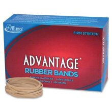 Alliance 26335 Rubber Bands Size 33 1 lb. 3-1/2-Inch x1/8-Inch 600BX Natural