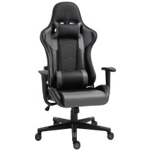 Vinsetto High Back Racing Gaming Chair Recliner Swivel Rocking Head Back Pillow