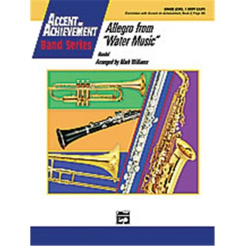 Alfred 00-23272 ALLEGRO FROM WATER MUSIC-AOA
