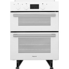 Hotpoint DU2540WH Class 2 Built Under 60cm  Electric Double Oven White New
