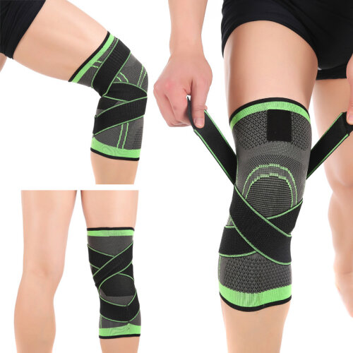 (Knee_M) Protector Pads Bandage Knee pad Support