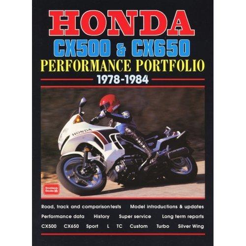Honda Cx500 and Cx650 Performance Portfolio 1978-1984
