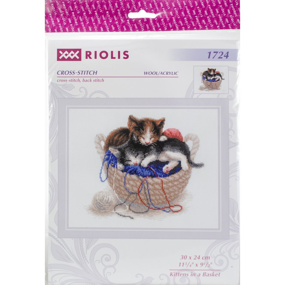 "RIOLIS Counted Cross Stitch Kit 8.3/""X11.8/""-Christmas Eve 14 Count"