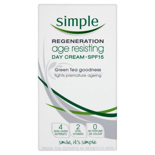 Simple Regeneration Age Resisting Day Cream SPF15, 50ml