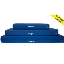 Roy Blue HD Foam Gymnastics Gym Crash Landing Mat