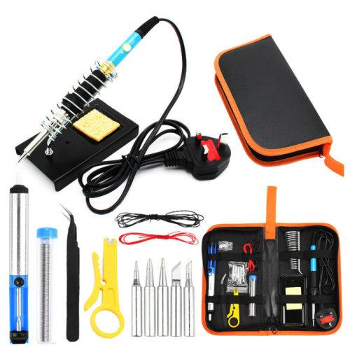 60W Soldering Iron FULL Kit Electronic Welding Irons Tool