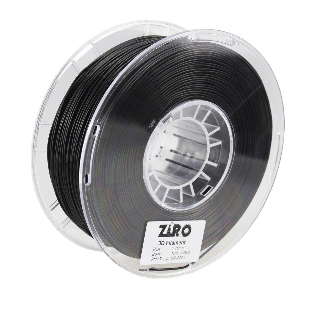 ZIRO 3D Printer Filament PLA 1.75 1KG Dimensional Accuracy +//- 0.05mm Fluo yellow 2.2lbs