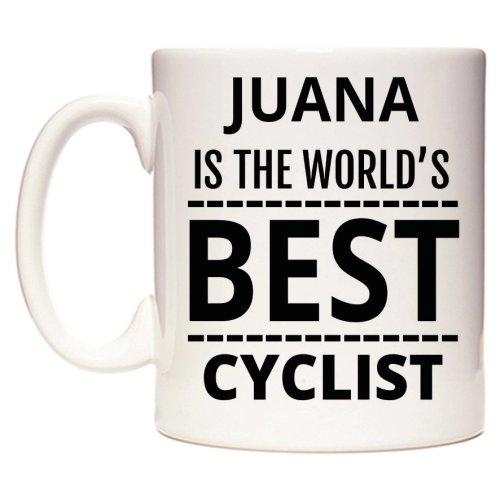 JUANA Is The World's BEST Cyclist Mug