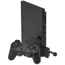Sony Playstation 2 PS2 Slimline Black Console - Used
