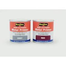 Anti-Corrosion Metal Primer 500ml, Grey