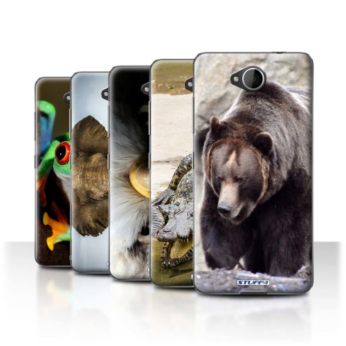 Wildlife Animals Microsoft Lumia 650 Phone Case Transparent Clear Ultra Slim Thin Hard Back Cover for Microsoft Lumia 650