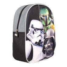 Official Star Wars Stormtrooper Darth Vader & Boba Fett 3d Image Carry Travel Backpack
