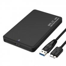"USB 3.0 Hard Drive Disk 2.5"" SATA HDD SSD External Slim Enclosure Case"