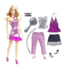 Barbie Fab Life Doll And Fashion Pink Pants And Accessories