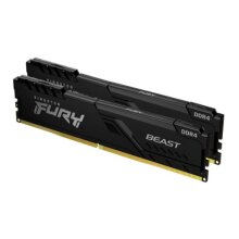 Kingston Fury Beast 16GB Kit (2 x 8GB), DDR4, 2666MHz (PC4-21400), CL16, DIMM Memory