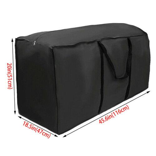 (116x47x51cm) Outdoor Waterproof Garden Cushion Cover Bag