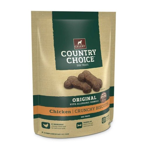 Gelert Country Choice Chicken Dog Treat 225g (Pack of 10)
