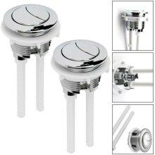 Universal Replacement Dual Flush Push Button Toilet Water Saving Cistern Flush