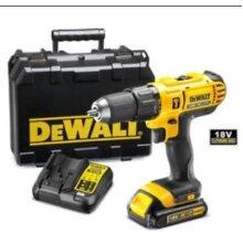 DeWalt Cordless 18V 1.3Ah Li-Ion Combi Drill DCD776C1