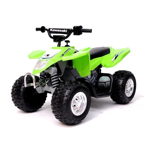 Kawasaki Electric Quad Bike Kids 12v Ride On