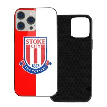 Stoke City F.C. FC Phone Cases Compatible with iPhone 12/ iPhone 12 Pro/ 12 Mini/ 12 Pro Max Glass Back Cover