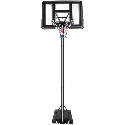 Dripex 10ft Portable Basketball Hoop Adjustable High 2.3M-3.05M