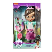 Nella The Princess Knight Transforming and Singing Doll, Includes Hair Brush and Sword