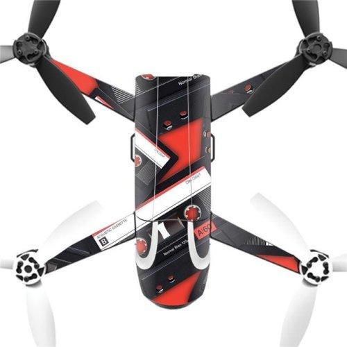 MightySkins PABEBOP2-2Mixtape Skin Decal Wrap for Parrot Bebop 2 Quadcopter Drone - Mixtape