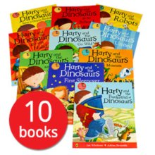 Harry and the Dinosaurs Collection - 10 Books