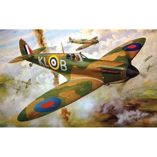 Airfix A12001V Supermarine Spitfire Mk1a 1:24 Plastic Model Kit