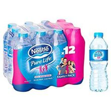 NESTLE PURELIFE SPRING WATER - 2 Unit(s)----Each  Unit Is 12 X(500ML)