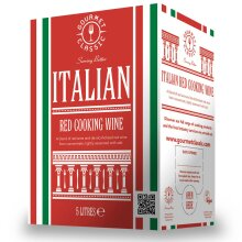 Gourmet Classic Italian Red Cooking Wine - 2x5ltr