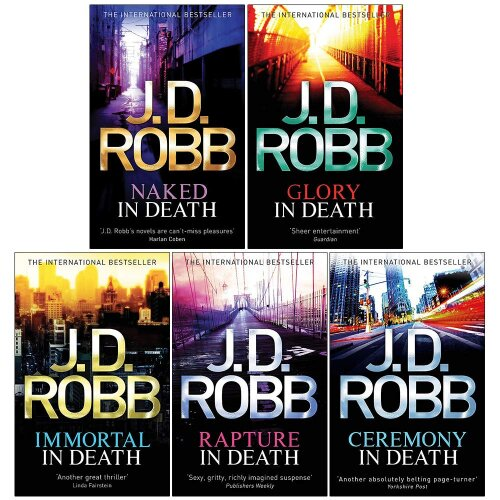 Jd Robb Death Series 1-5 Books Collection Set