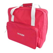 Singer Carrying Bag for Sewing Machine Red Stitching Travel Case Reinforced