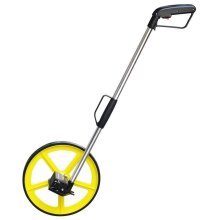 DISTANCE MEASURING WHEEL WITH STAND FOLDABLE IN BAG SURVEYORS BUILDERS